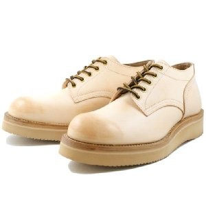 Locking Shoes  ロッキングシューズ by FootMonkey フットモンキー  5HOLE OXFORD SHOES 1015 5ホール オックスフォードシューズ ベージュ 送料無料 footmonkey