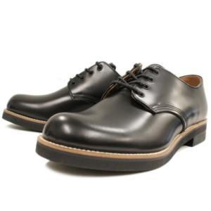 Locking Shoes ロッキングシューズ by FootMonkey フットモンキー PLAIN TOE OXFORD 1030 ブラック footmonkey