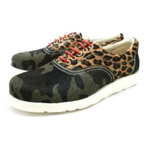 ハラコ シューズ メンズ Locking Shoes ロッキングシューズ by FootMonkey フットモンキー FAR LACE UP 1036 【★】|footmonkey