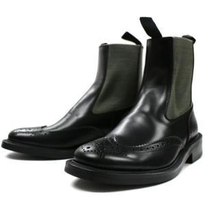 Locking Shoes ロッキングシューズ SIDEGORE WINGTIP BOOTS 917 ブラック サイドゴア チェルシー footmonkey
