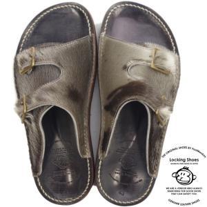 Locking Shoes ロッキングシューズ by FootMonkey フットモンキー SDL-2FT SEAL シール アザラシ ハラコ サンダル メンズ レザー レザーサンダル footmonkey