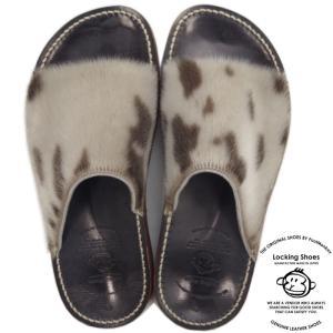 Locking Shoes ロッキングシューズ by FootMonkey フットモンキー SDL-4FT SEAL シール アザラシ ハラコ サンダル メンズ レザー レザーサンダル footmonkey