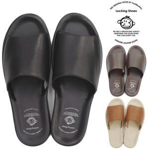 ロッキングシューズ Locking Shoes by FootMonkey フットモンキー STS-203 シャワーサンダル サンダル メンズ レザー バングラディッシュ製 footmonkey
