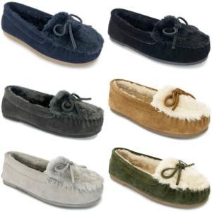 ミネトンカ モカシン ボア 正規品 MINNETONKA KYLAH キーラ スリッポン レディース スエード カジュアルシューズ 本革 もこもこ 靴 footmonkey 03