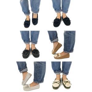 ミネトンカ モカシン ボア 正規品 MINNETONKA KYLAH キーラ スリッポン レディース スエード カジュアルシューズ 本革 もこもこ 靴 footmonkey 04