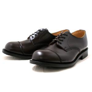 ラムジー 靴 ミリタリー RAMSEY 442 MILITARY CAP TOE OXFORD [コードバン]|footmonkey