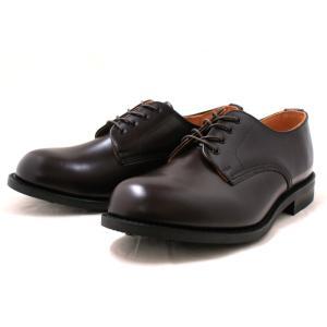 ラムジー 靴 ミリタリー RAMSEY 443 MILITARY PLAIN TOE OXFORD [コードバン]|footmonkey