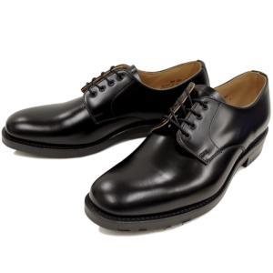 ラムジー 靴 ミリタリー RAMSEY 443 PLAIN TOE DERBY SHOE [ブラック] ビジネスシューズ|footmonkey