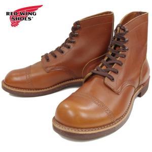 レッドウィング アイアンレンジ マンソン 正規品 RED WING IRON RANGE MANSON 8011 [ホワイトアッシュ・セトラー] ブーツ メンズ ワークブーツ footmonkey