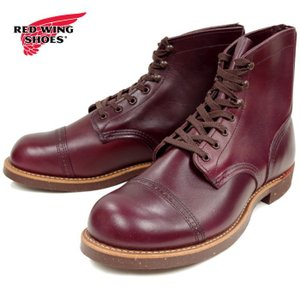 レッドウィング アイアンレンジ マンソン 正規品 RED WING IRON RANGE MANSON 8012 [バーガンディー・セトラー] ブーツ メンズ ワークブーツ footmonkey