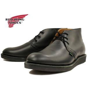 レッドウィング ポストマン チャッカ 正規品 RED WING 9196 POSTMAN CHUKKA [ブラック]  ポストマンブーツ メンズ ブーツ footmonkey