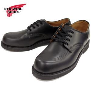 レッドウィング ガレージマン 正規品 RED WING GAREGEMAN 9201 [ブラック シャパレル] オックスフォード ワークブーツ メンズ 短靴 footmonkey