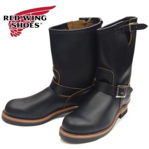レッドウィング 9268 エンジニアブーツ RED WING メンズ ブーツ 黒 復刻 店舗限定 正規品|footmonkey