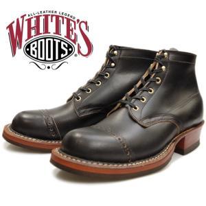 WHITE'S BOOTS SEMI-DRESS BROUGE TOE 2332 ブラッククロムセクセル ホワイツブーツ ホワイツ セミドレス ワークブーツ メンズ 茶芯 アメリカ製|footmonkey