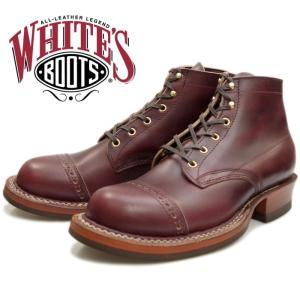 WHITE'S BOOTS SEMI-DRESS BROUGE TOE 2332 ブラウンエルクタン ホワイツブーツ ホワイツ セミドレス ワークブーツ メンズ 茶芯 アメリカ製|footmonkey