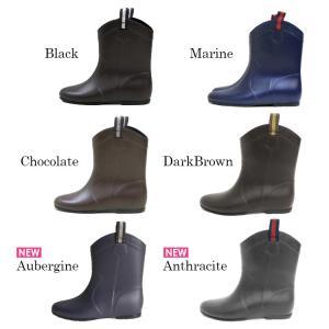 レインブーツ レディース レインシューズ 安い シンプル かわいい 通勤 通学 ショート 防水 長靴 雨靴 雪対策 22.5cm〜25.5cm ゆうパケット非対応|footone|05