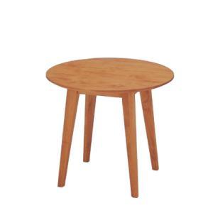 イクスステーブル IXDT-80R ナチュラルテイスト 木製テーブル|foranew
