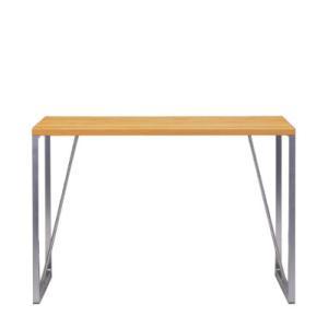 イクススデスクテーブル DE-05W ナチュラルテイスト 木製テーブル|foranew