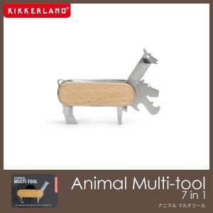 キッカーランド アニマルマルチツール Animal Multi-tool 7 in 1 工具セット|foranew