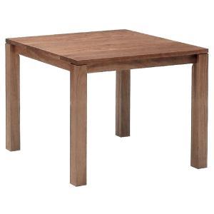 リーブステーブル スクエアテーブル 90 ハイタイプ ウォールナット ハードメープル|foranew