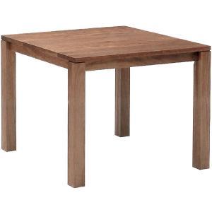リーブステーブル スクエアテーブル 100 ハイタイプ ウォールナット ハードメープル|foranew