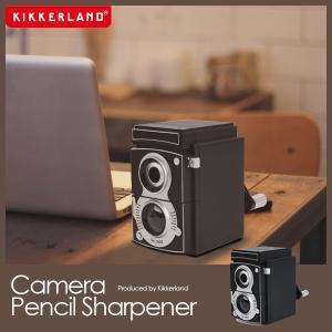 キッカーランド 鉛筆削り  カメラ ペンシル シャープナー Camera Pencil Sharpener 手動|foranew