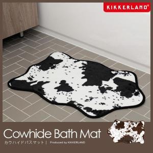 キッカーランド バスマット カウハイドバスラグ Cowhide Bath Rug 足拭きマット|foranew
