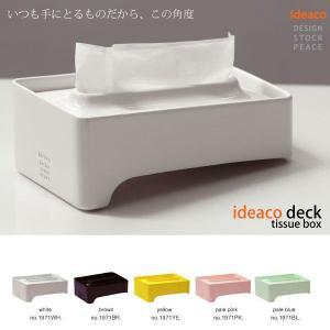 ideaco  deck (デッキ)ティッシューボックス foranew