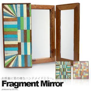 完売となりました FRAGMENT MIRROR (フラグメントミラー) 鏡 壁掛け 床置き タイ|foranew