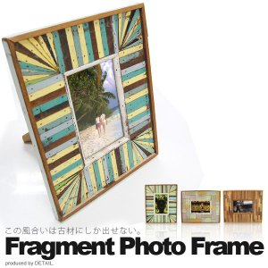 FRAGMENT PHOTO FRAME (フラグメントフォトフレーム) 写真立て 壁掛け|foranew