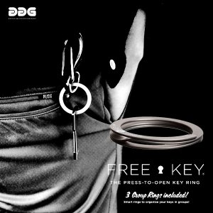 free key フリーキー キーリング キーホルダー DDG スウェーデン|foranew