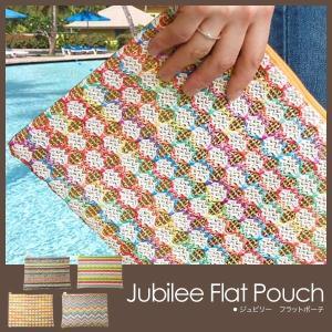 ジュビリーフラットポーチ ビニールポーチ jubilee flat pouch グローバルアロー globalarrow foranew
