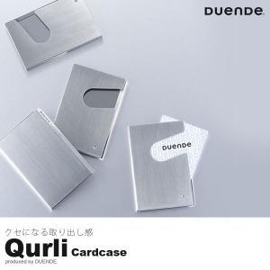 カードホルダー Qurli クルリ cardholder タカノジュン デザイン 名刺入れ カードケース DUENDE|foranew