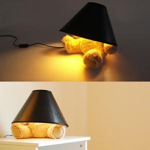 テディベア ランプ TEDDYBEAR LAMP テーブル照明 (SUCK UK イギリス)|foranew