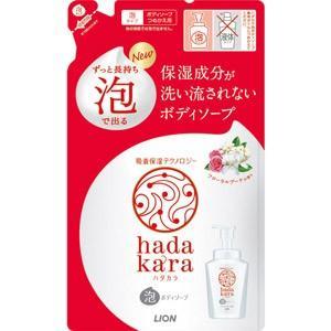 hadakara(ハダカラ) ボディソープ 泡で出てくるタイプ フローラルブーケの香り つめかえ用 ...