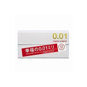 サガミオリジナル 0.01 <幸福の0.01ミリ> 5個入 (コンドーム)(配送区分:B)