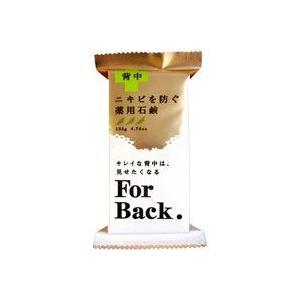 【発売元・製造元】 (株)ペリカン石鹸 【商品詳細】 ●背中ニキビを防ぐ薬用石鹸です。 ●Wの有効成...