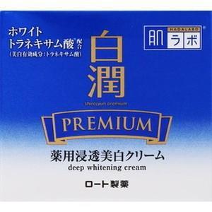 ロート製薬 肌ラボ 白潤プレミアム 薬用浸透美白クリーム 50g(医薬部外品)[配送区分:A]