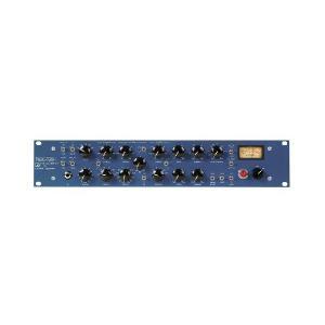 イコライザーとコンプレッサーにはそれぞれ個別のIn/Outスイッチを搭載 VUメーターはアウトプット...