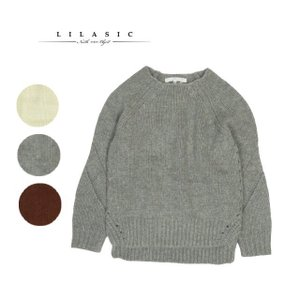 north object LILASIC ノースオブジェクト リラシク ニット セーター 手編み風 ローゲージ プルオーバー|forest-shops