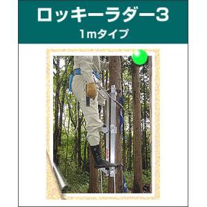 ロッキーラダー 3 / 1mタイプ (1本ハシゴ) / 木登りハシゴ|forest-world