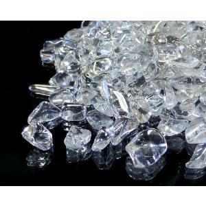 天然水晶 さざれチップ 100g (Mサイズ) 浄化 (最高級5A) (郵便でのお届け)(代引き/日付指定不可)|forestblue