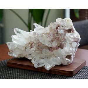 最高級 ヒマラヤ水晶 クラスター・原石  No.30 パワーストーン 天然石|forestblue