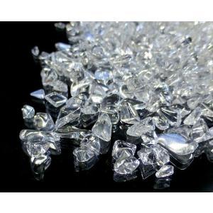 天然水晶 さざれチップ 500g (Sサイズ) 浄化 (最高級5A)|forestblue