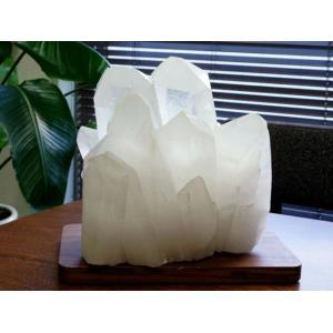 水晶クラスター(ブラジル産) 原石  No.33 パワーストーン 天然石|forestblue