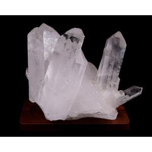 水晶クラスター(ブラジル産) 原石  No.34 パワーストーン 天然石|forestblue