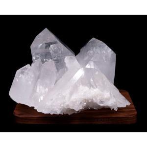水晶クラスター(ブラジル産) 原石  No.35 パワーストーン 天然石|forestblue