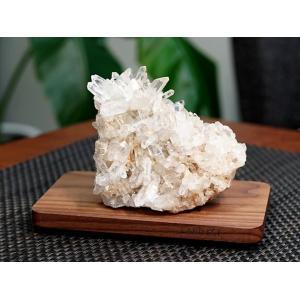 ヒマラヤ水晶 クラスター・原石 (カンチェンジュンガ産)  No.2 パワーストーン 天然石|forestblue