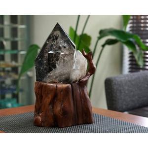 最高級 ブラックルチルクォーツ 原石  No.1 パワーストーン 天然石|forestblue