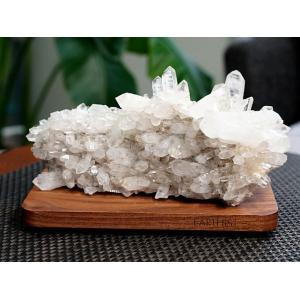 ヒマラヤ水晶 クラスター・原石 (カンチェンジュンガ産)  No.4 パワーストーン 天然石|forestblue